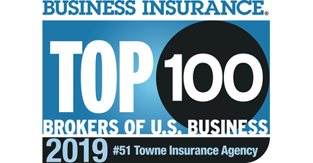 Top 100 Largest Brokers of U.S. Business by Business Insurance magazine.